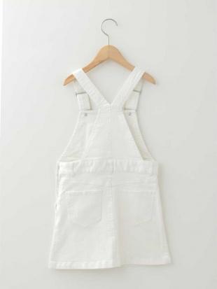 ホワイト [100-130]ジャンパースカート a.v.v bout de chouを見る