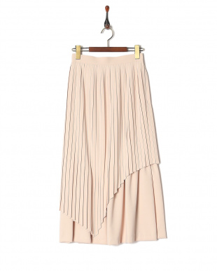 L/PINK スパイラルプリーツスカートを見る