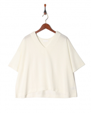WHITE シーガルVネックTシャツを見る