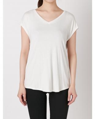 ホワイト BACKドレープTシャツ【WEB限定】 LAGUNAMOONを見る