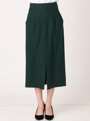 グリーン ハイウエストタイトスカート LAGUNAMOONを見る