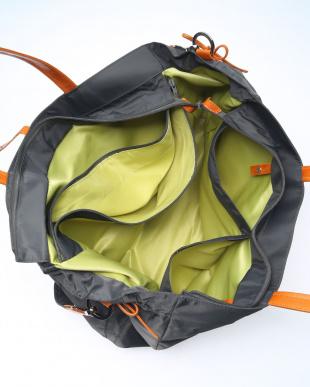 カーボングレー*オレンジ ボストンバッグを見る