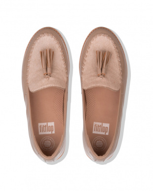 Taupe PAIGE FAUX-PONY MOCCASINを見る