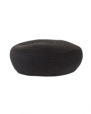 ブラック ブレード編みベレー帽 MERCURYDUOを見る