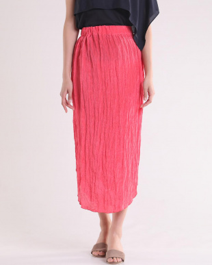 ピンク1 シワ加工サイドボタンスカート Luftrobeを見る