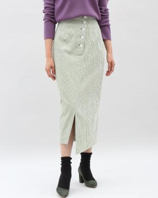 ネイビー コーデュロイタイトスカート Luftrobeを見る