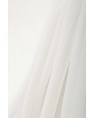 ホワイト1 ボリュームスリーブオーガンジーブラウス R/B(オリジナル)を見る