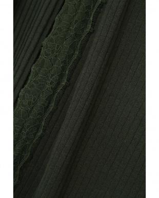 カーキ1 テレコロングカーディガン R/B(オリジナル)を見る