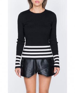 ブラック Julie knit topsを見る