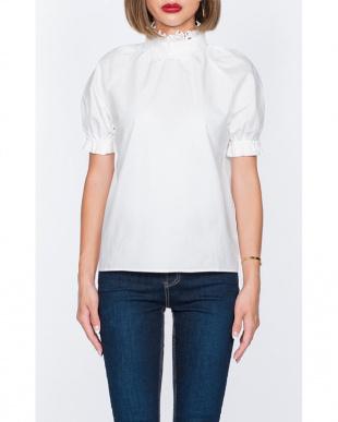 ホワイト  Blossom blouseを見る