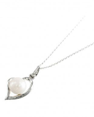 SV あこや真珠 8.0~8.5mm 大珠 オープンハートネックレスを見る