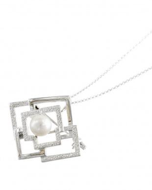SV あこや真珠 8.0~9.0mm 大珠 2Way ブローチネックレスを見る
