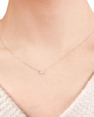 PT 天然ダイヤモンド 0.3ct 2本爪 プラチナネックレス [鑑別書付]を見る