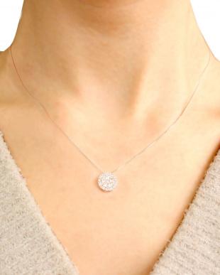 PT 天然ダイヤモンド 計0.5ct 31石サークル プラチナネックレス [鑑別書付]を見る