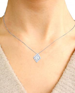 PT 天然ダイヤモンド 計0.5ct 41石デザイン プラチナネックレス [鑑別書付]を見る