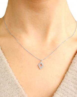 PT 天然ダイヤモンド 計0.1ct  デザイン プラチナネックレスを見る