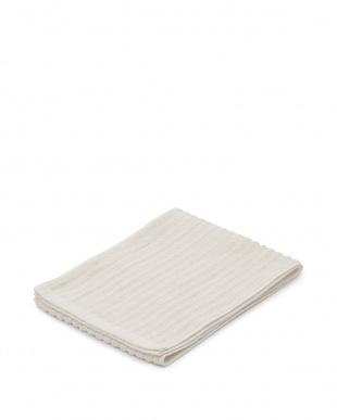 ホワイト/ピンクベージュ/ピンクホワイト 日本製ボディケアタオル素材5枚セットシルク2枚・麻2枚・綿麻1枚を見る