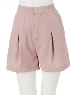 ピンク コンパクトショートパンツ dazzlinを見る