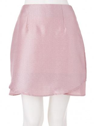 ミントグリーン グリッター台形スカート dazzlinを見る