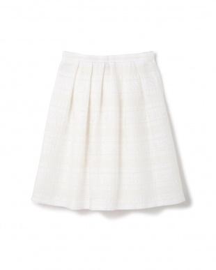 ホワイト [山中章子さん]《Purpose》CUCINOTTAスカート NATURAL BEAUTYを見る