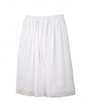 ホワイト STボイルスカート NATURAL BEAUTYを見る