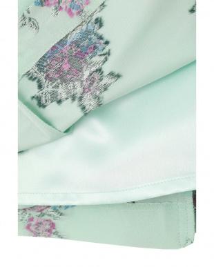 ジェ-ドグリーン2 《Purpose》カットワークフラワージャガードスカート NATURAL BEAUTYを見る