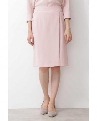 ピンク ポリエステルドビースカート ナチュラルビューティBを見る