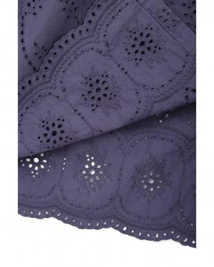 ライトネイビー コットンローン刺繍 2WAY羽織りワンピ ナチュラルビューティBを見る