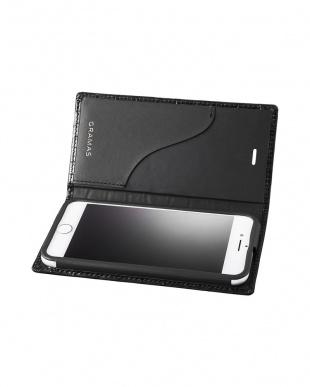 ブラック Croco Patterned Full Leather Case for iPhone 7Plus/8Plusを見る