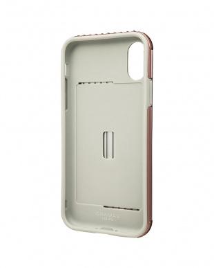 ローズゴールド Rib Hybrid case for iPhone X/XSを見る