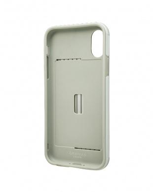 ホワイト Rib Hybrid case for iPhone X/XSを見る