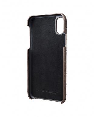 グレージュ EURO Passione Croco Shell PU Leather Case for iPhone X/XSを見る