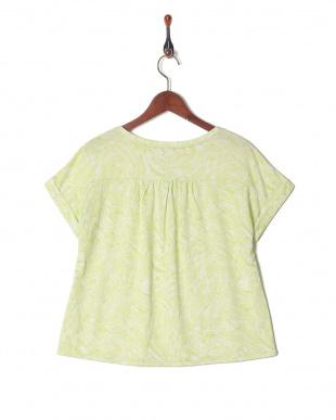 イエローグリーン DRYプリズムプリントドルマンTシャツを見る