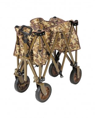 カモフラージュ キャンプアウト 収束型4輪キャリーを見る