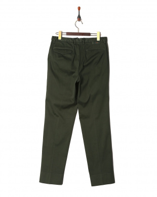 Green Ice cotton dobby wide tapered fitを見る