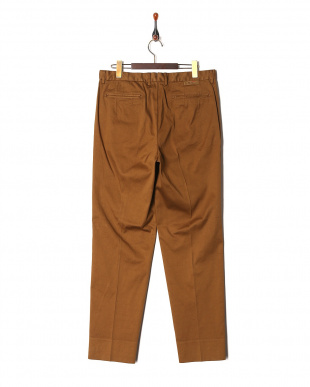 Brown Ice cotton dobby wide tapered fitを見る