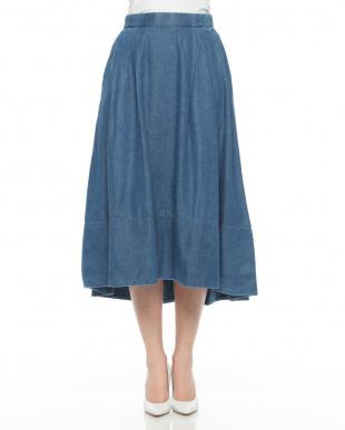 ブルー フィッシュテールスカートを見る
