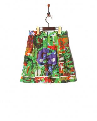 097 GREEN MARNI 子供スカートを見る