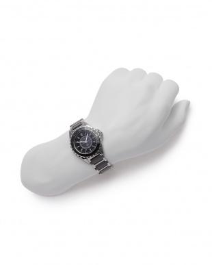 ブラック/シルバー/ブラック 腕時計を見る