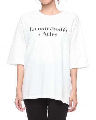 ネイビー Arles オーバーTシャツを見る