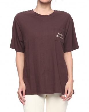 ブラウン Under the water Tシャツを見る