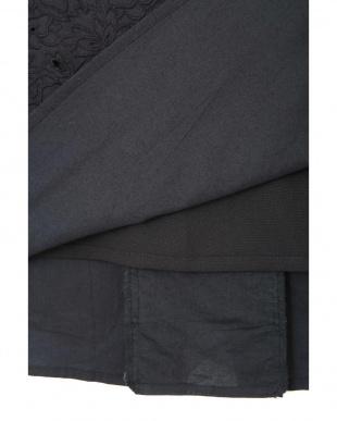 ネイビー インド刺繍スカート◆ ヒューマン ウーマンを見る