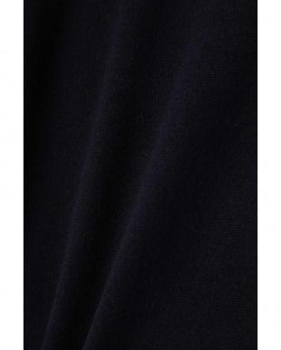 ネイビー×グレー ◆衿付きプルオーバー ヒューマン ウーマンを見る