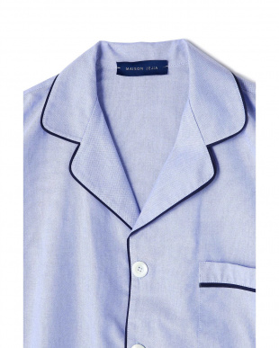 ブルー [MAISON JEJIA]パジャマシャツ アッシュスタンダードを見る