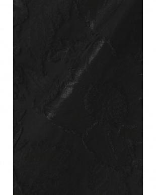 ブラック フラワージャガードスカート アッシュスタンダードを見る