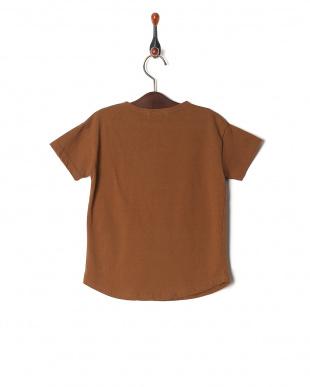 ブラウン isookbaby ベーシックTシャツを見る