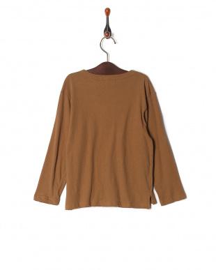 ブラウン isookbaby ニュアンスカラーロングスリーブTシャツを見る