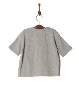グレー isookbaby OVERCROWロゴスウェットTシャツを見る
