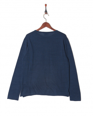 044 【EDIFICEカジュアル】 Denim looking knit pk-Tを見る