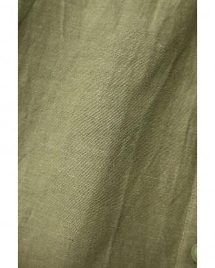 カーキ1 ネイティブ刺繍シャツブラウス R/B(バイイング)を見る